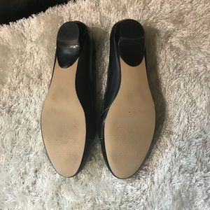 Madison Shoes - 🎄black leather slip on shoes by Madison🎄